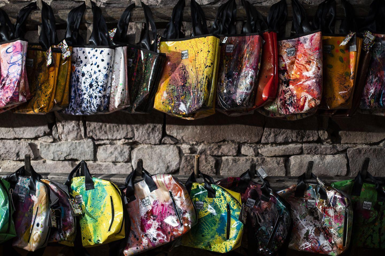Upcycling: gilt nicht fürs Bike, sondern für diese geilen Taschen